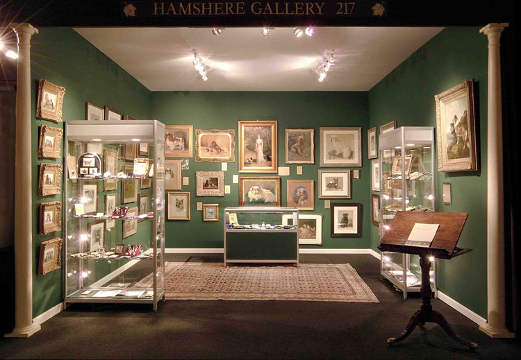 A Hamshere Gallery Stall